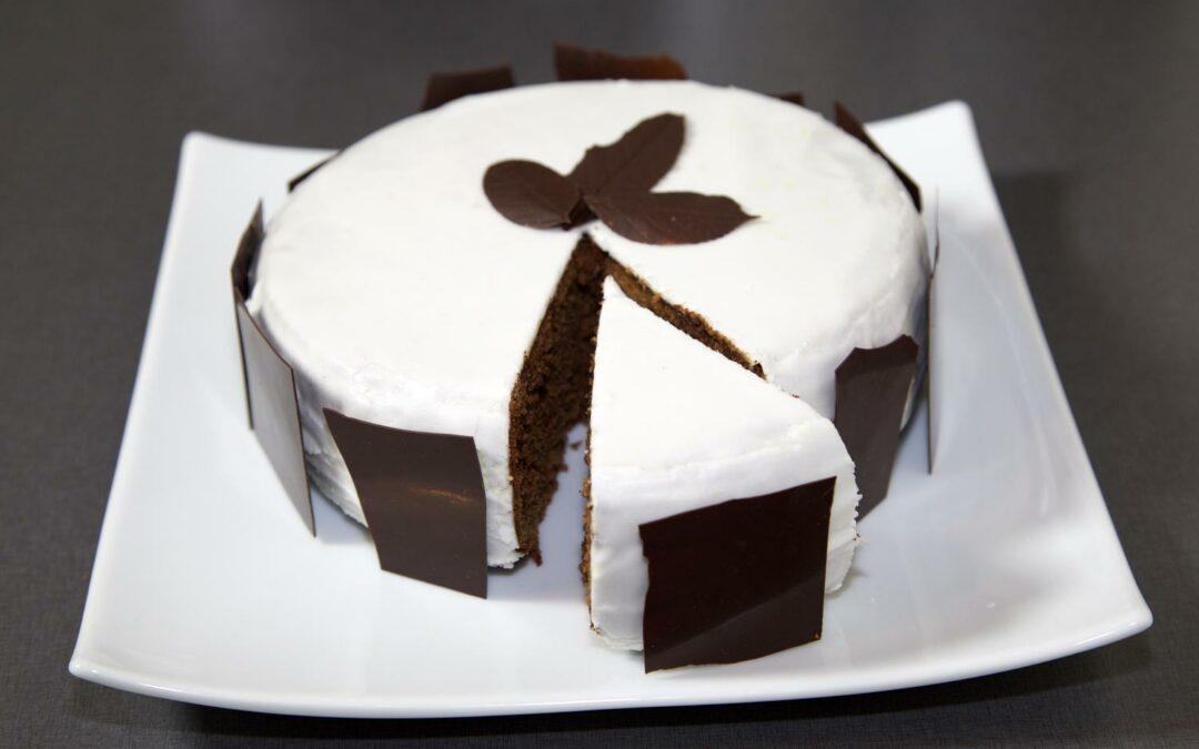 Le gâteau au chocolat