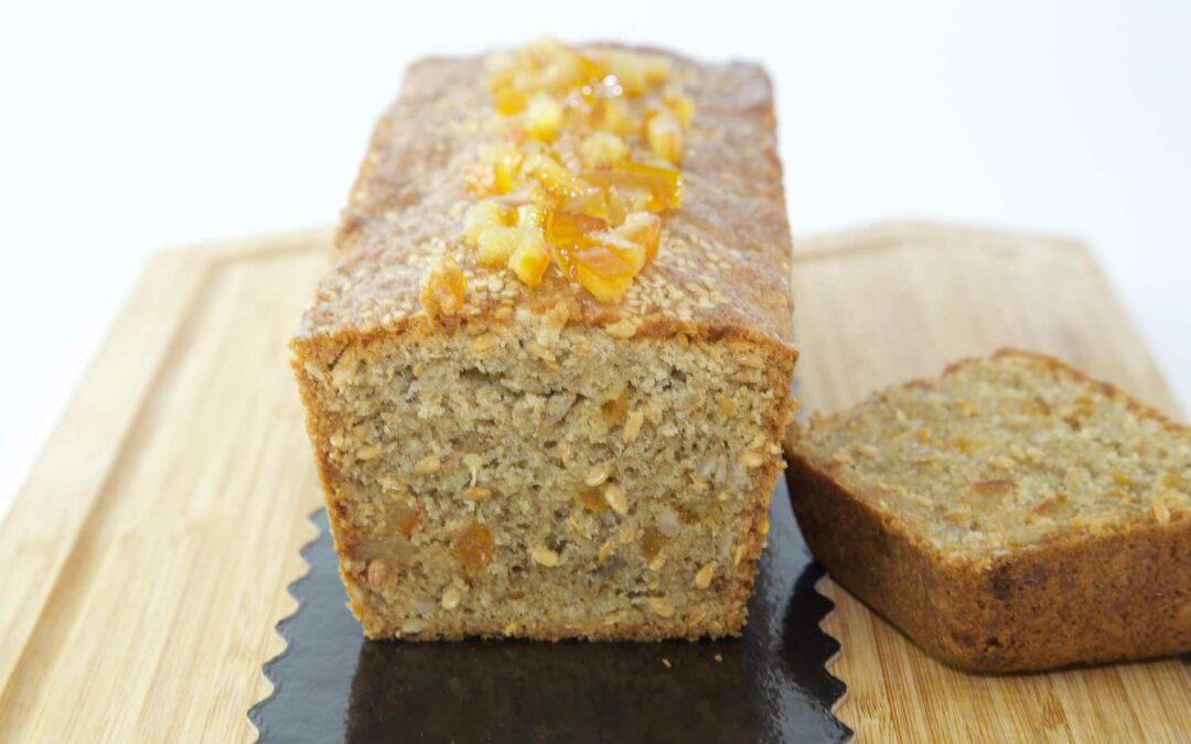 Cake orange et graines