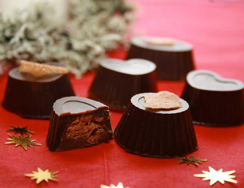 Chocolats croustillants