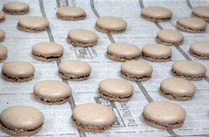 Macarons réalisés pd le cours