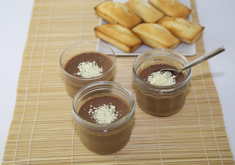 Crèmes chocolat au four