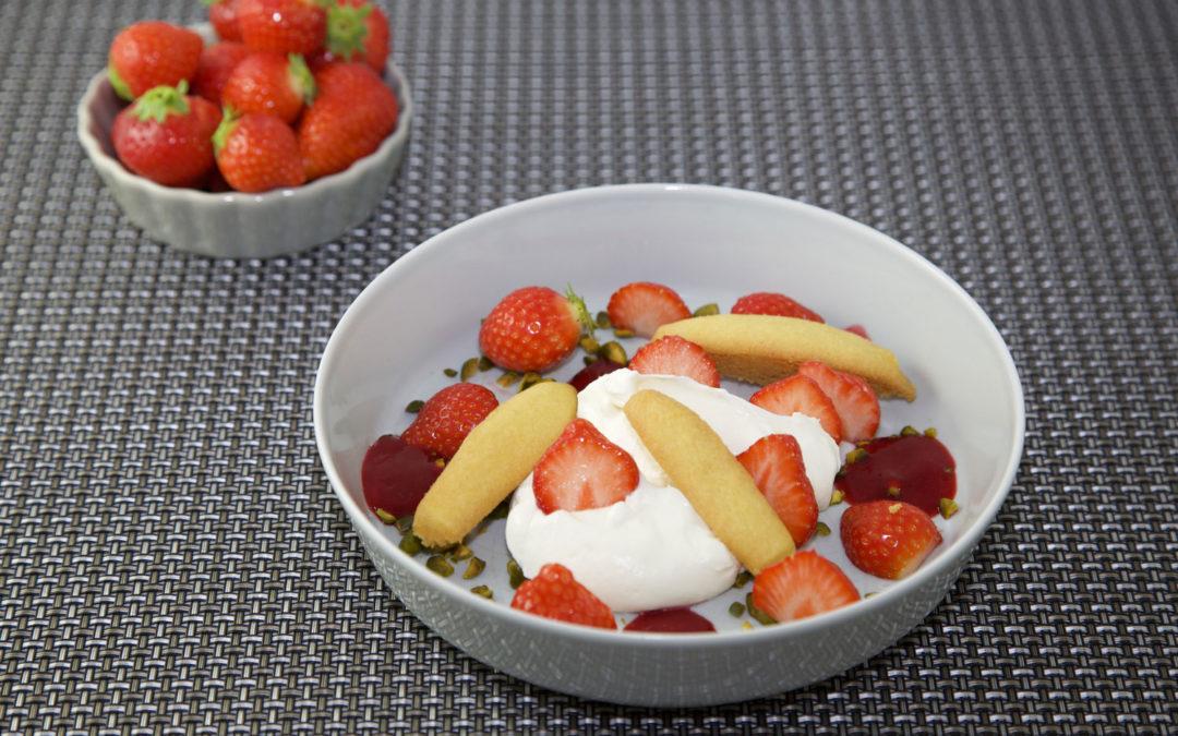 Palets breton aux fraises